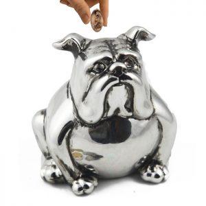 セラミック犬貯金箱貯金箱貯金箱チェンジ車をブート画面の装飾のギフトパーソナライズコイン瓶